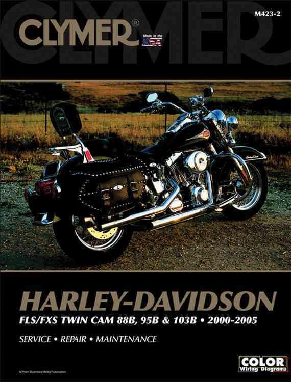 Clymer Harley Davidson Fls/fxs twin cam 88B, 95B & 103B, 2000-2005 By Scott, Ed